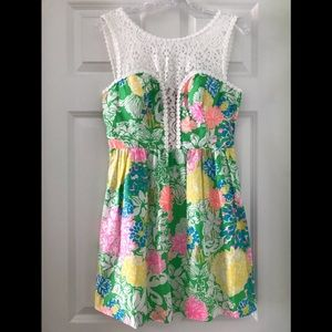 NWT Lilly Pulitzer Raegan Dress in Hibiscus Stroll
